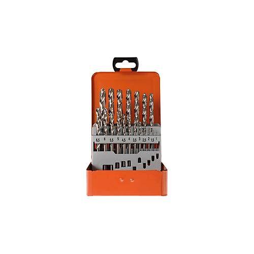 Projahn Spiralbohrer-Set Projahn BASIC, 19 kurze Spiralbohrer, in Metallkassette