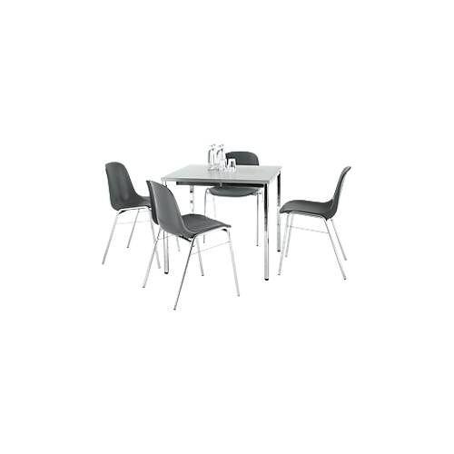 4 Stühle BETA + Tisch SET