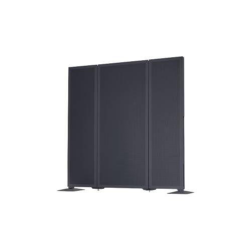 SSI Schäfer Akustik-Stellwand Akustika, Breite von 400 bis 800 mm, Höhe 1500 mm, für Büros