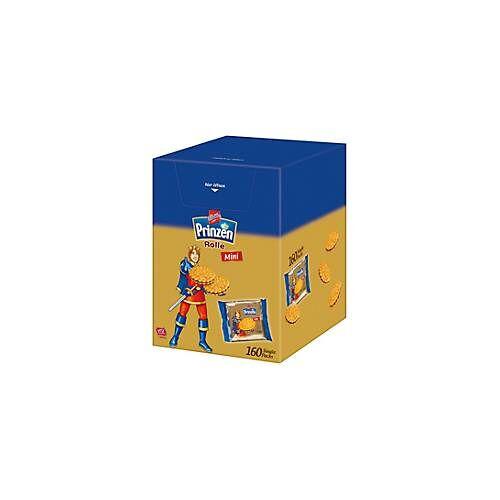 Griesson De Beukelaer Mini Prinzenrolle, 160 Einzelverpackungen, je 7,5 g