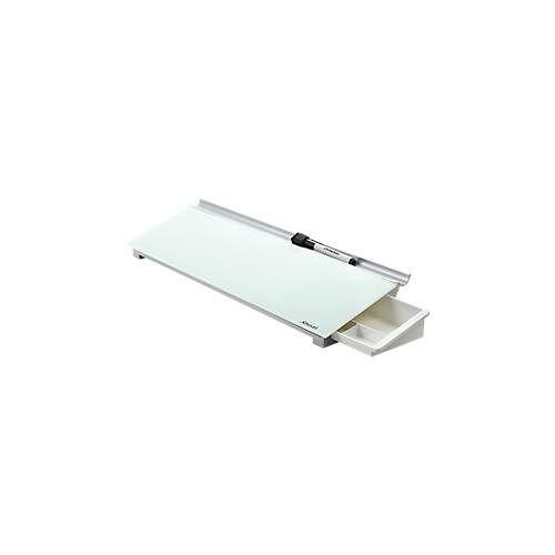 Nobo Glas-Memoboard Nobo Diamond, f. Schreibtisch, mit verborgenem Organizer