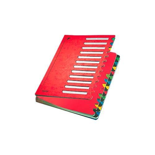 Leitz Pult-Ordner A4, mit 24 Fächern, in div. Farben, aus langlebigem Karton