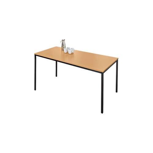 SSI Schäfer Stahlrohr-Tisch, 1600 x 700 mm