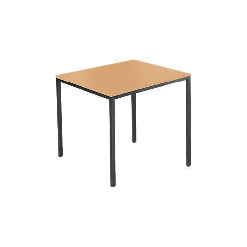 SSI Schäfer Stahlrohr-Tisch, 800 x 700 mm