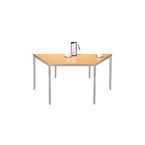 SSI Schäfer Stahlrohr-Tisch, Trapez, 1600/800 x 690 mm