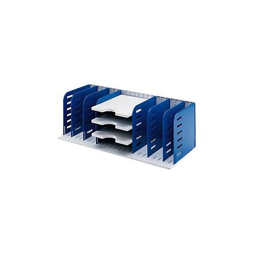 styro® Sortierstation Styrorac, 8 Trennwände + 3 Tablare, flexible Aufteilung
