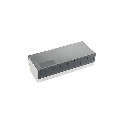 Edding Tafelwischer Edding e-BMA 2, mit Magnetstreifen, nachbestückbar, L 165 x B 75 x H 47 mm, weiß-anthrazit