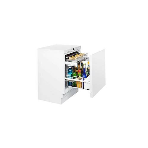 Hogastra Unterbau-Flaschenkühlschrank KM 141 FL, für Flaschen bis 1,5 l, B 600 x T 600 x H 820-880 mm