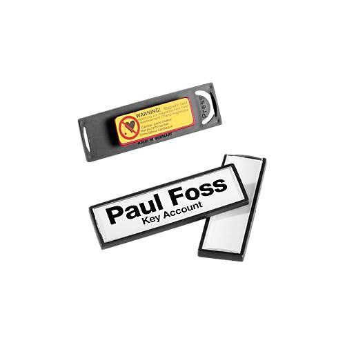 Durable Clip Card Namensschild von DURABLE
