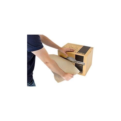 FORMPACK BOX, Packpapier, 100% Altpapier, Papierqualität 125 g/m2, 55 Laufmeter, 300 x 400 x 300 mm