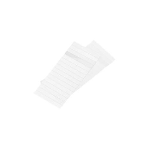 MAUL Karton-Streifen für Namens-Profilschilder, weiß