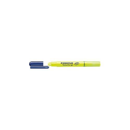 Staedtler Textmarker Gel, mit gelartiger Wachsmine, Minendurchmesser 9 mm