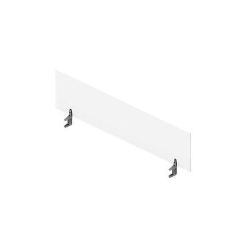 Tischtrennwand ARLON-OFFICE, Höhe 420 mm, für Schreibtisch B 1200 – 1800 mm