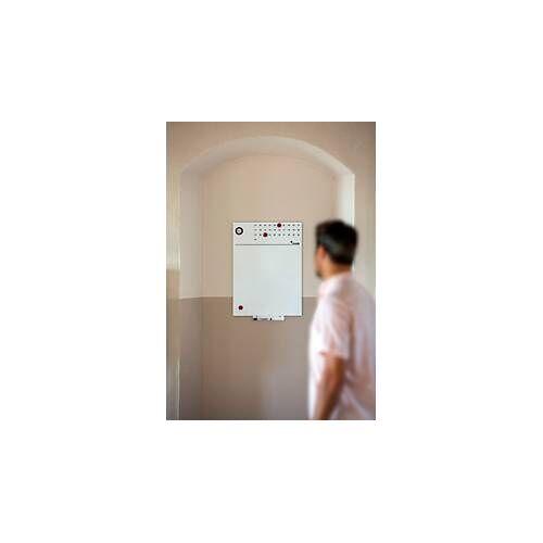 Rocada Whiteboard Skin, 550 x 750 mm, mit Uhr und Kalender