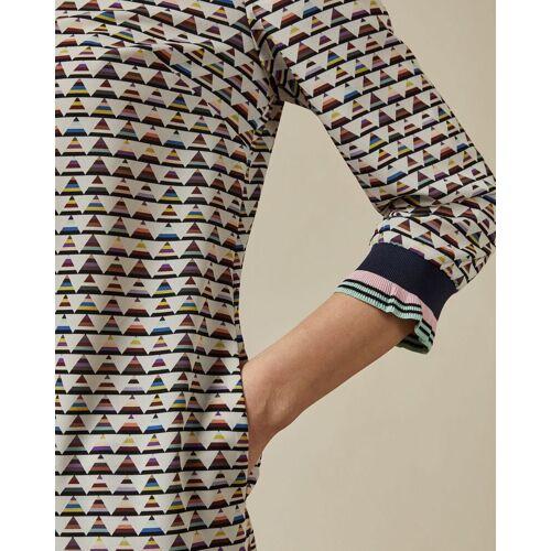 Ted Baker Kleid Mit Dreiecks-print