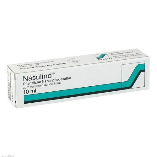 Nasulind Pflanzliche Nasenpflegesalbe
