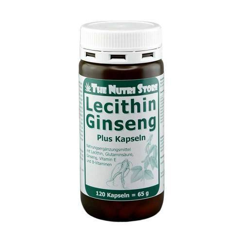 The Nutri Store Ginseng Lecithin plus Kapseln