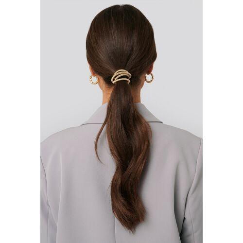 NA-KD Accessories Gebogenes Haar-Detail - Gold