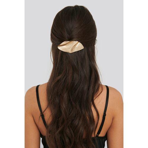 NA-KD Accessories Haarspange Aus Gebogenem Metall - Gold