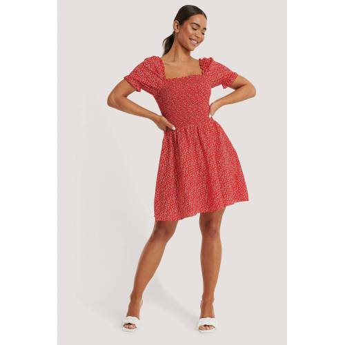 NA-KD Kittel-Kleid - Red
