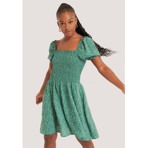 NA-KD Kittel-Kleid - Green