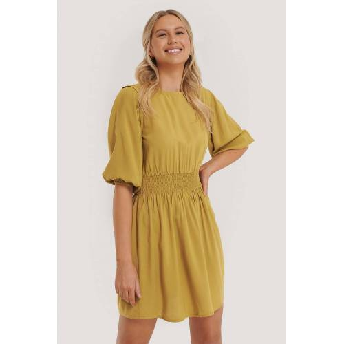 Trendyol Kittel-Kleid - Yellow