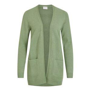 VILA Basic Strickjacke Damen Grün Loden Frost S