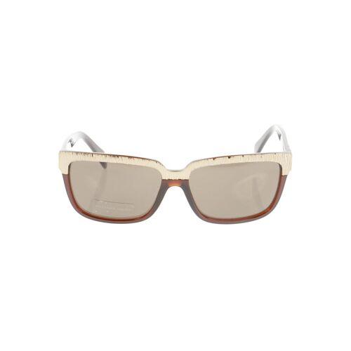 Alexander McQueen Damen Sonnenbrille braun