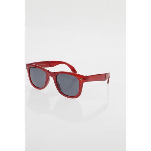 MANGO Damen Sonnenbrille rot