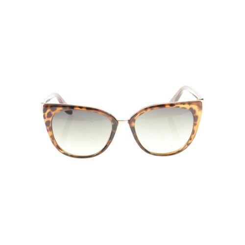 MANGO Damen Sonnenbrille braun