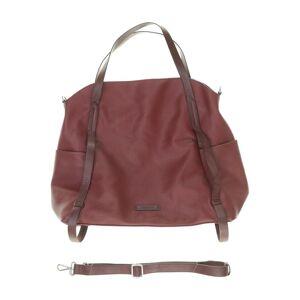 Esprit Damen Handtasche rot Kunstleder