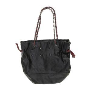 Promod Damen Handtasche schwarz Kunstleder