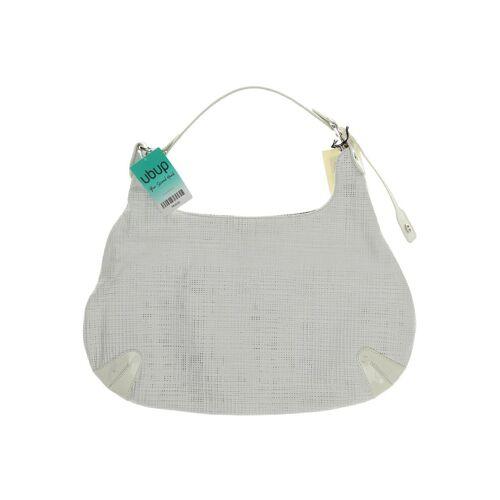 Aigner Damen Handtasche weiß Leder