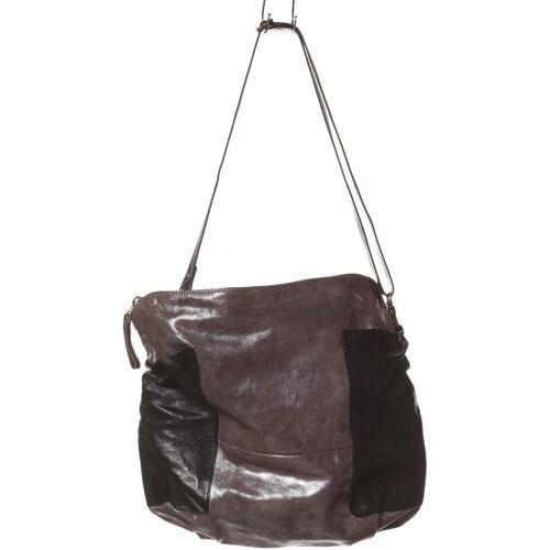 Airstep Damen Handtasche grau Leder