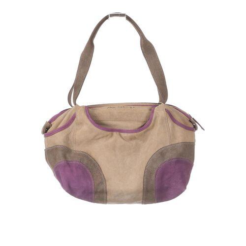 Airstep Damen Handtasche beige Leder