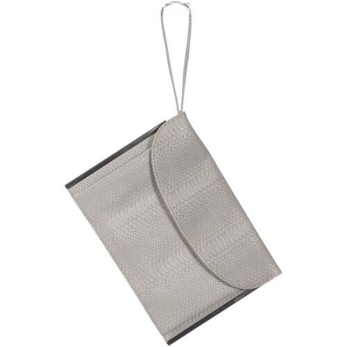 Atmosphere Damen Handtasche grau Kunstleder