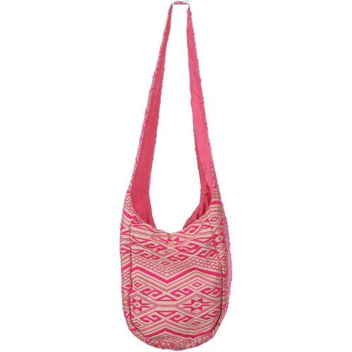 Atmosphere Damen Handtasche pink Baumwolle