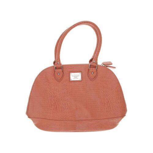 BELMONDO Damen Handtasche pink Leder
