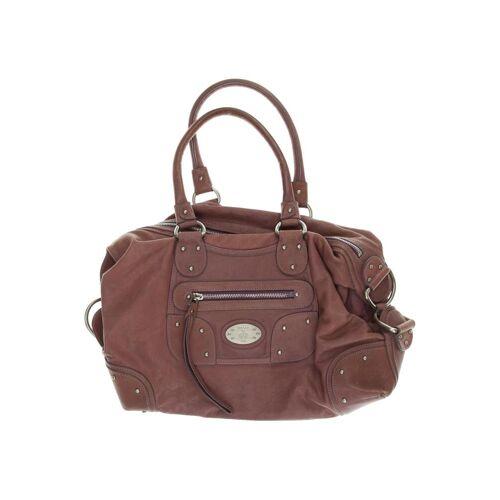 Bally Damen Handtasche pink Leder
