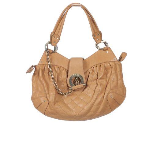 Bally Damen Handtasche beige Leder