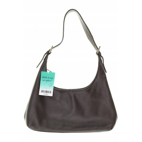 Bally Damen Handtasche braun Leder