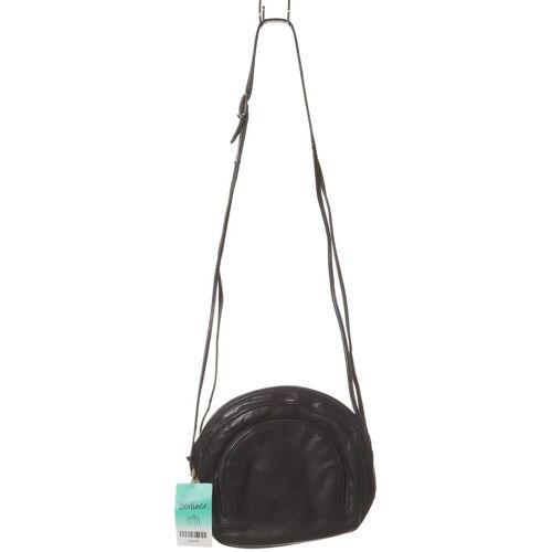 Bally Damen Handtasche schwarz Leder