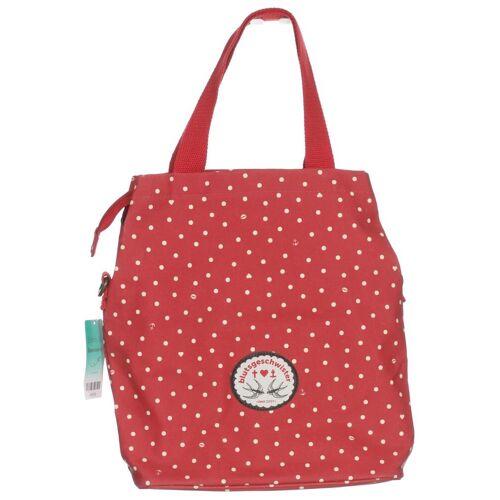 Blutsgeschwister Damen Handtasche rot Baumwolle