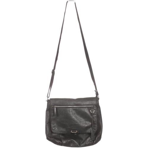 Borelli Damen Handtasche schwarz Leder