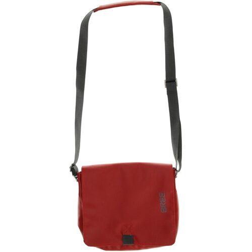 Bree Damen Handtasche rot Kunstleder