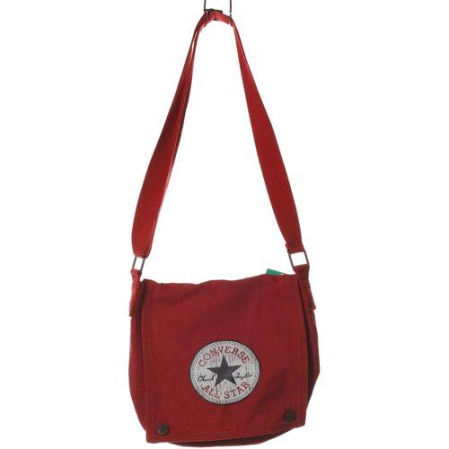 Converse Damen Handtasche rot Baumwolle
