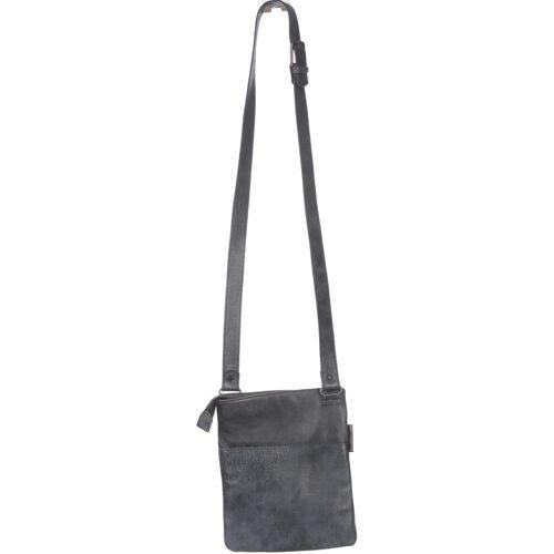 FRED DE LA BRETONIERE Damen Handtasche blau Leder