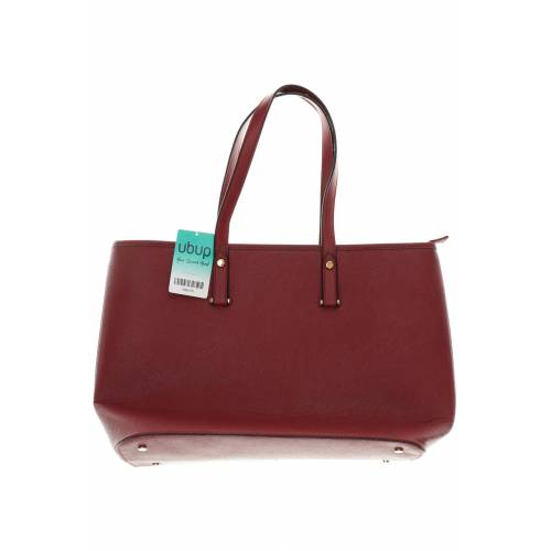 H&M Damen Handtasche rot Kunstleder