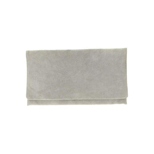 Hallhuber Damen Handtasche grau Leder