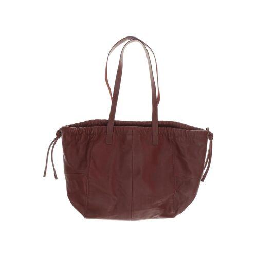 Kiomi Damen Handtasche rot Leder